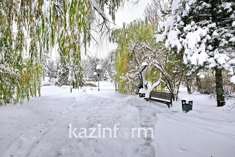 Heavy snowfall predicted in S Kazakhstan on Monday
