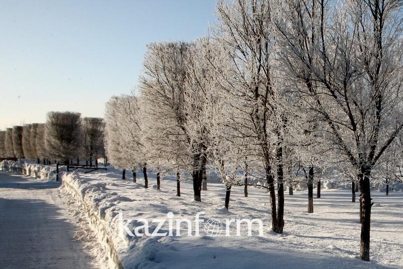 Потепление ожидается в Казахстане 7-9 декабря