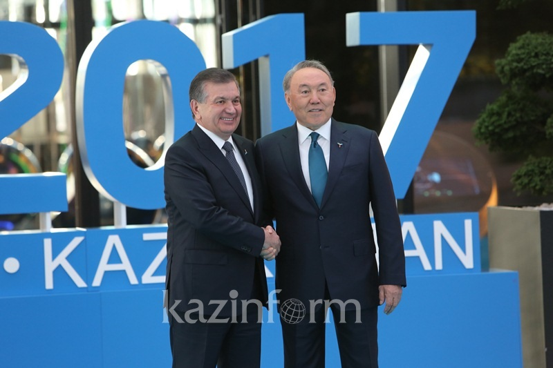 Uzbek leader thanks Nursultan Nazarbayev for warm reception in Astana