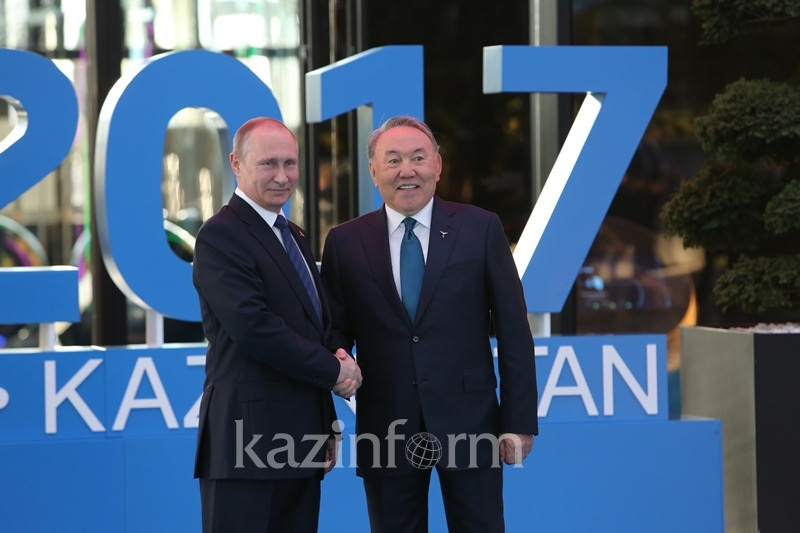 Kazakh, Russian Presidents discuss results of 5th round of Astana process