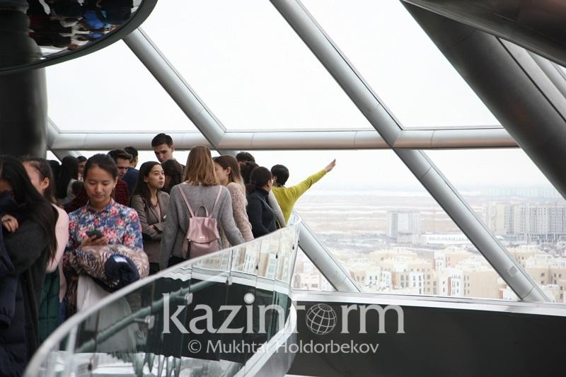 «Астана ЭКСПО-2017» туристік аймағын екі күнде 18 мың адам тамашалады