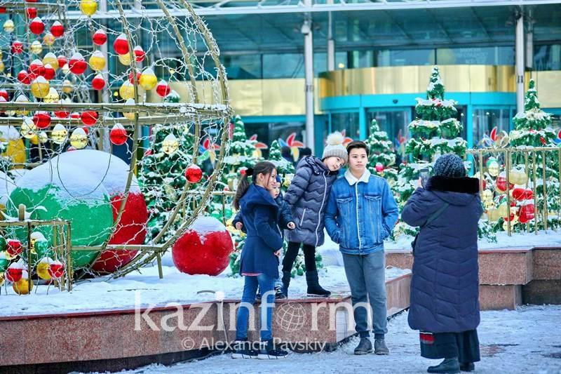 Как украсят Алматы к Новому году
