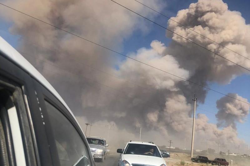 Сколько всего взрывов произошло в Арыси - Минобороны РК