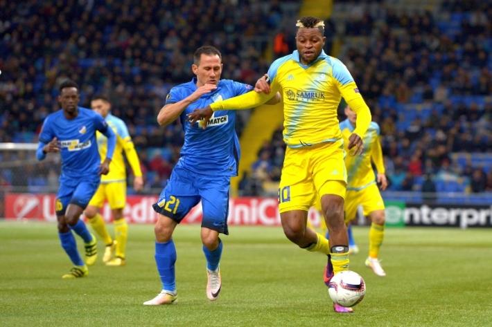 «Астана» победила АПОЭЛ в Лиге Европы
