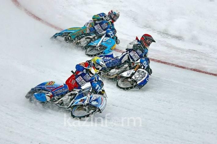 В Алматы завершился Чемпионат Мира по мотогонкам на льду