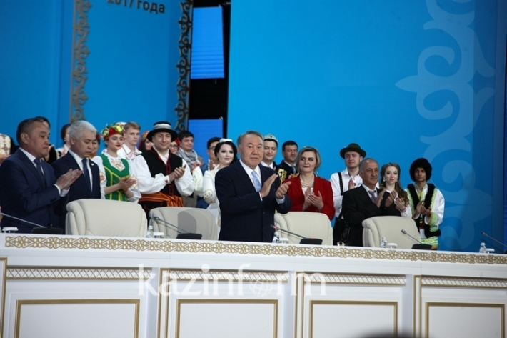 The 25th session of the People's Assembly of Kazakhstan