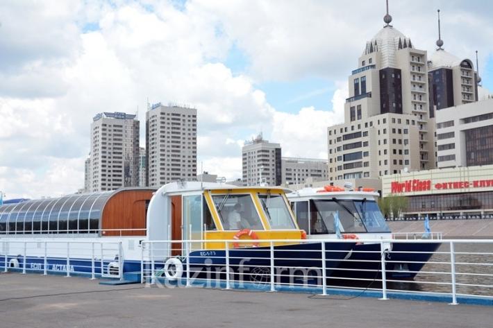 Astana's summer riverboat season kicks off