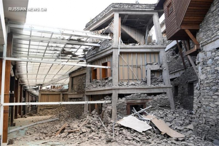 Devastating consequences of earthquake in China