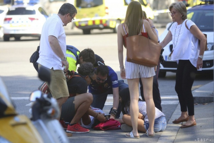 13 dead, at least 100 people injured in Barcelona terror attack