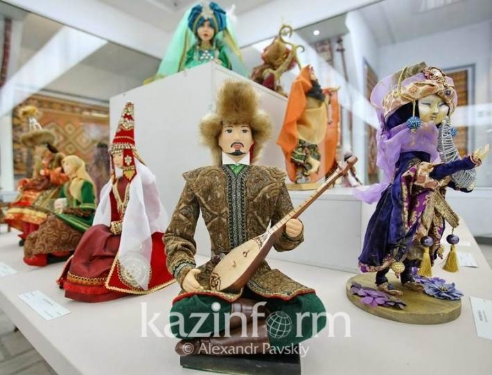 Создатели кукол отметили 25-летие дипломатический отношений между Казахстаном и Россией