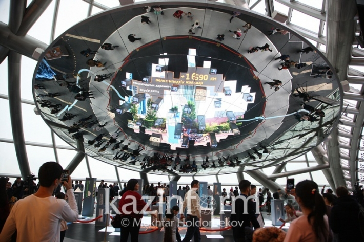 Как выглядит «Нур Алем» после EXPO