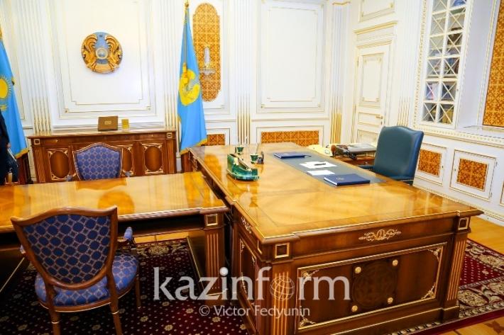 Президенттің Астанадағы алғашқы кабинеті қандай болған
