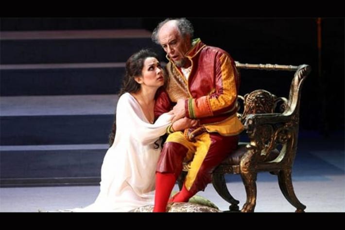 «Астана Опера» театрының солисі Мария Мудряк «Карло Феличе» сахнасында дебют жасады