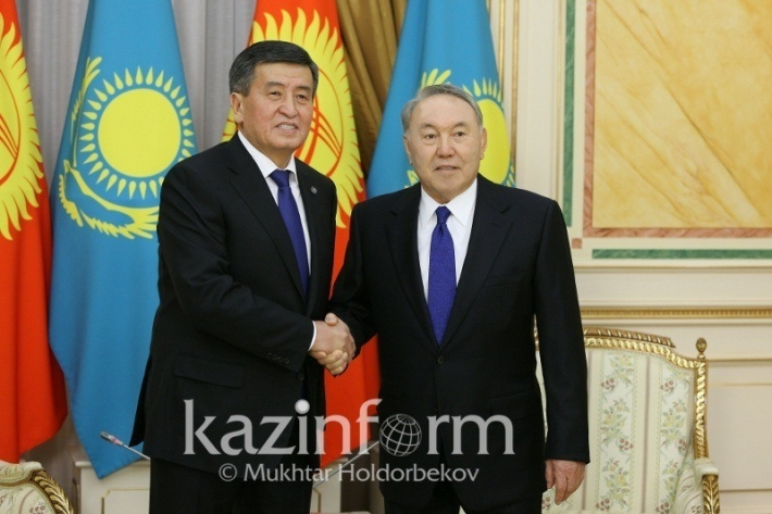 Presidents of Kazakhstan, Kyrgyzstan meet in Akorda