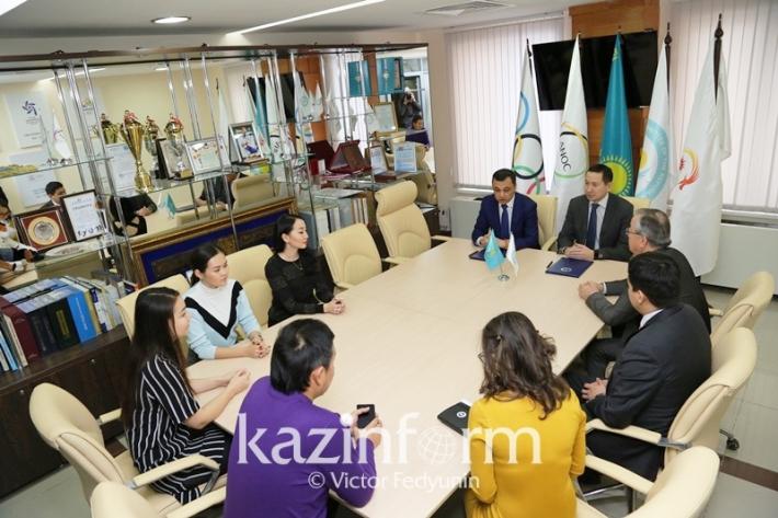 МИА «Казинформ» стал официальным информационным партнером Национального Олимпийского комитета РК