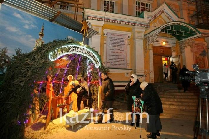 Православные Казахстана отметили Рождество
