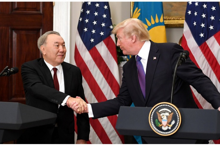 Nursultan Nazarbayev's official visit to the U.S.