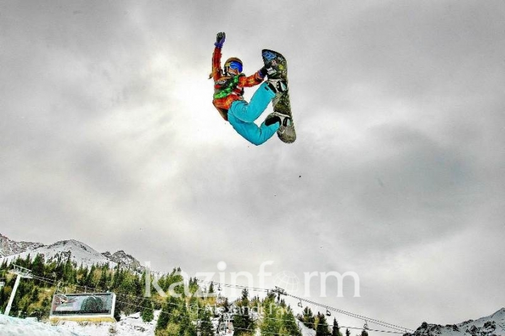 Shymbulak resort welcomed winter extreme show
