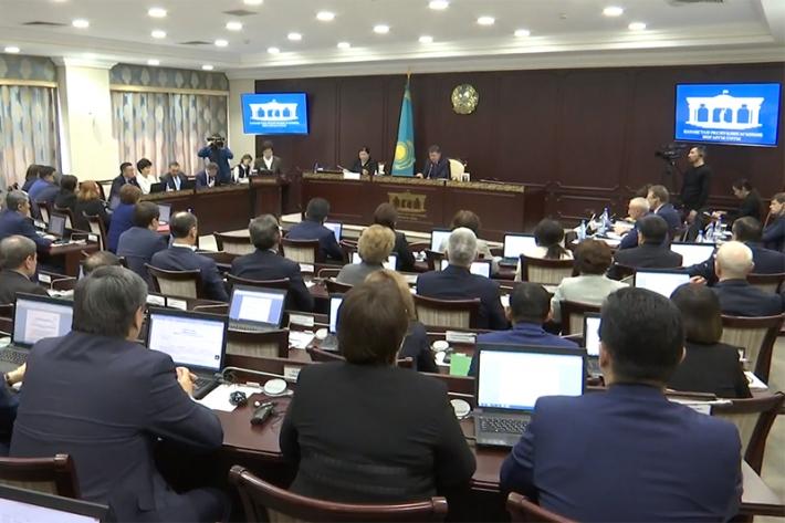 Пленарное заседание Верховного Суда Республики Казахстан 16.03.2018