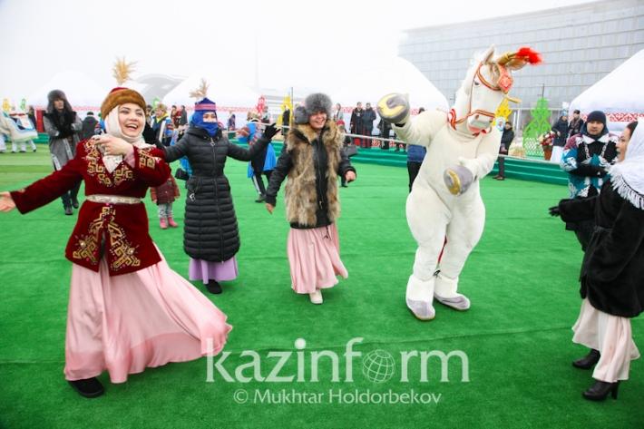 Краски весеннего праздника Наурыз