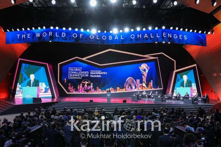 Plenary session with the participation of the President of the republic Kazakhstan
