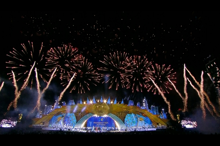 Spectacular fireworks crowns Astana's 20th anniversary celebrations