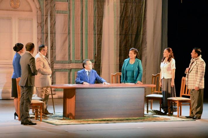 Премьера спектакля «Астана» состоялась во Дворце мира и согласия