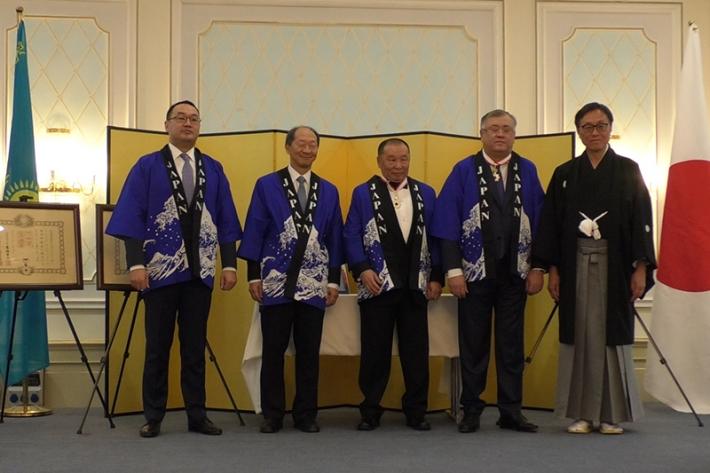Посольство Японии в Казахстане провело ежегодный прием в честь дня рождения Его Величества императора Японии