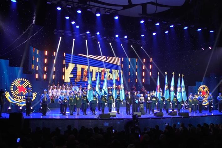 Торжественный концерт ко Дню Национальной гвардии РК состоялся в Астане