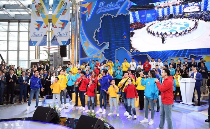 President Nazarbayev kicks off Year of Youth in Kazakhstan