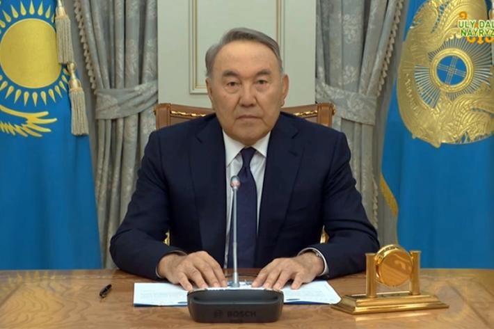 Обращение Главы государства к народу Казахстана в эфире республиканских телеканалов