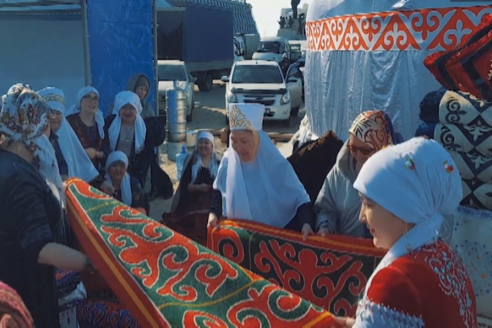 Жители столицы отмечают Наурыз мейрамы