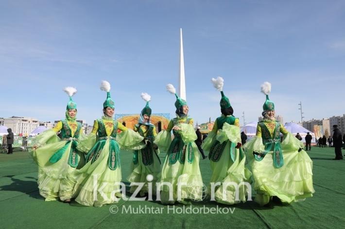 Казахстанцы отмечают Наурыз мейрамы