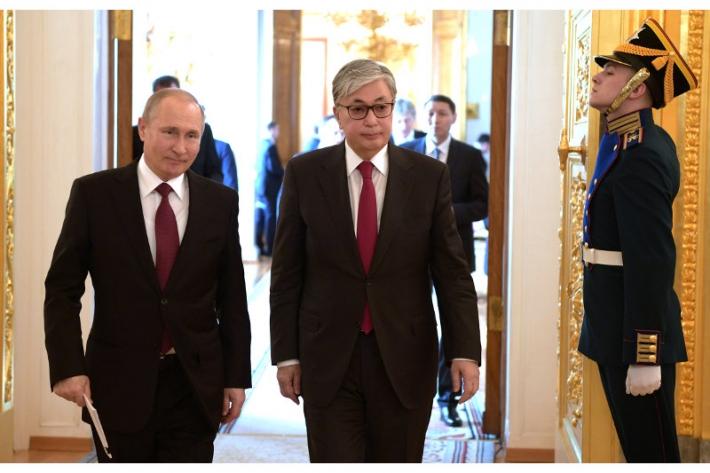 Москва, 2019 год: Визит Касым-Жомарта Токаева в столицу РФ