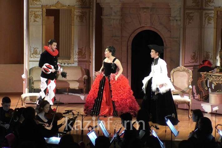 Opera La Scala di Seta presented at Astana Opera