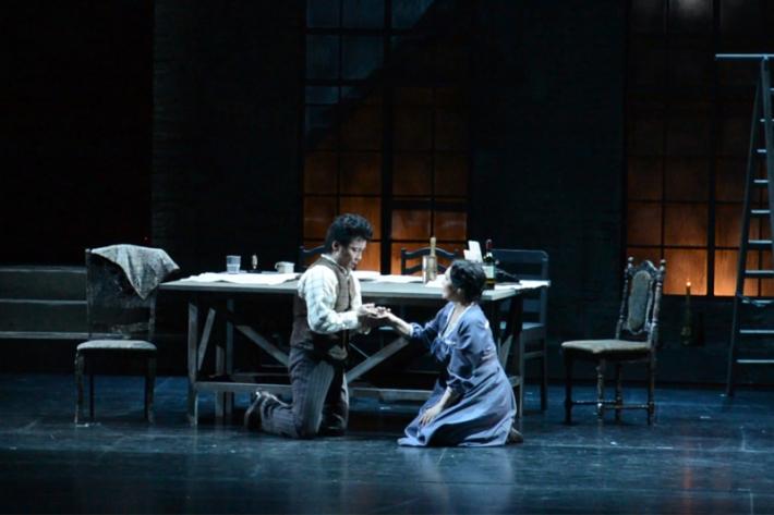 Премьеру новой сценической редакции Джакомо Пуччини «Парижская Богема» представили в «Астана Опера»