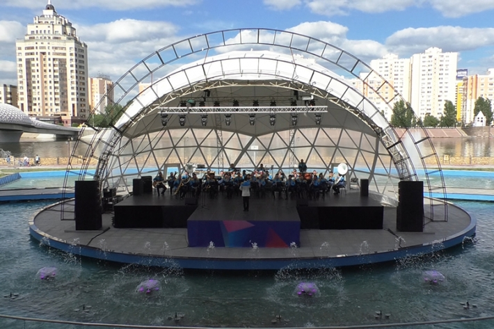Military concert held in the capital of Kazakhstan