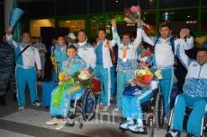 Қазақстан әуежай паралимпиада спорт делегациясының кездесу