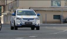 Нурсултан Назарбаев прокатился на электрокаре