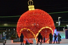 Expecting New Year in Astana