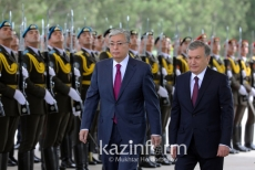 Video of first state visit of Kazakh President to Uzbekistan goes online