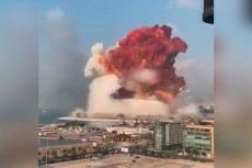 NO COMMENT: Explosion in Beirut