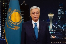 President Tokayev congratulates Kazakhstanis on New Year 2020